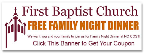 Click here - Free Family Night Dinner